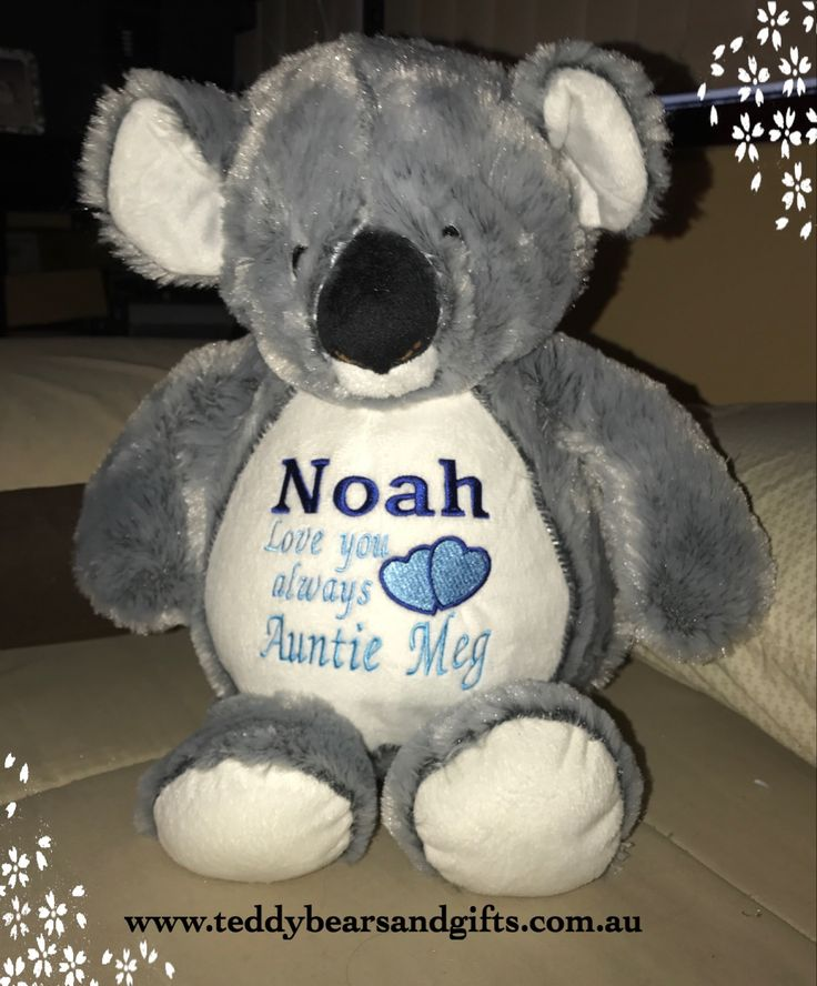 Not only cute but cuddly too, just like the real thing without the claws. Wouldn't you like one to put your message on too? http://teddybearsandgifts.com.au/personalised-gifts-keepsakes/baby-to-toddler/personalised-message-bears/