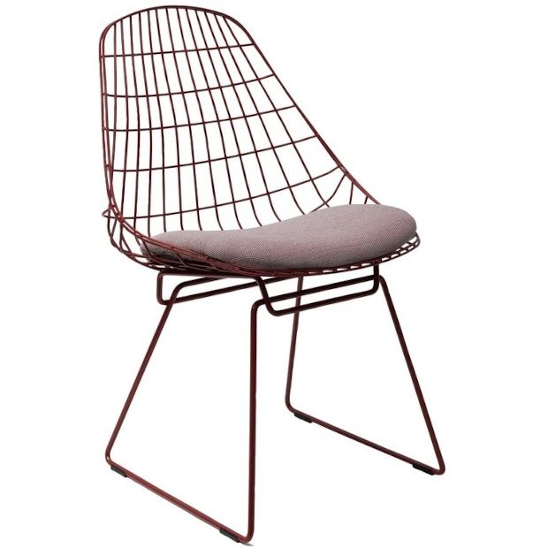 Pastoe Steelcut chair red