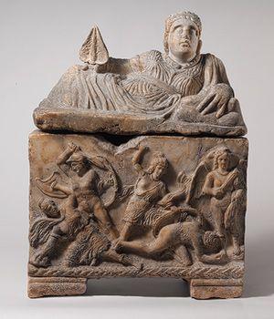 El arte etrusco de roma