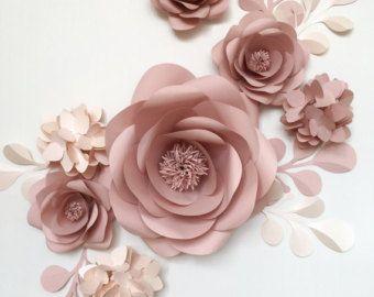 Paper Flower Backdrop Unique Paper Flowers Backdrop by MioGallery