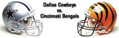 Cowboyw vs. Bengals Image   Dallas Cowboys Head to Head Records   Dallas Cowboys Forum ...