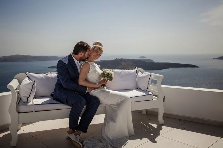 Santorini wedding video: First wedding in the season