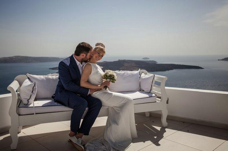 Santorini wedding video: First wedding in the season