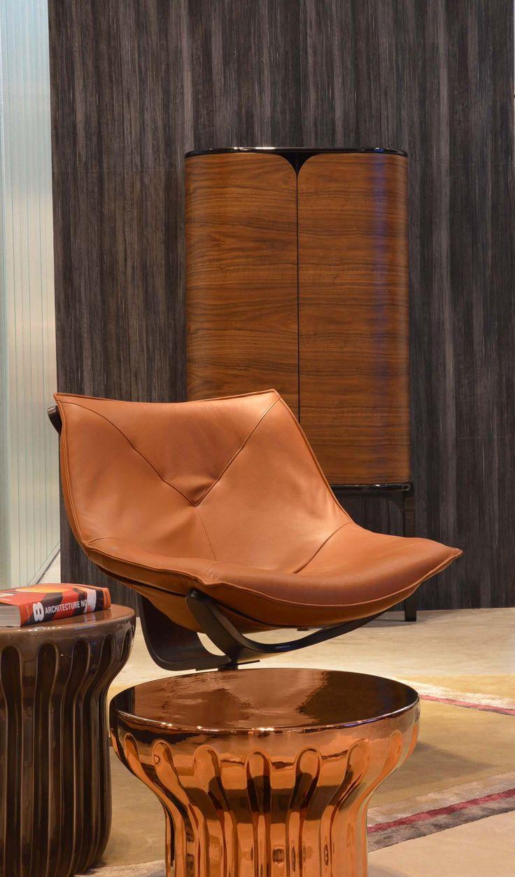 Roche Bobois | Dolphin armchair, designed by Cédric Ragot