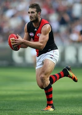 Jobe Watson brilliant with 31 disposals and 13 clearances.