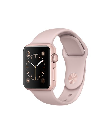 Introducing Apple Watch Rose Gold Aluminum in 38mm. Where will this go to die.#Nomoreewaste – Annie Strus
