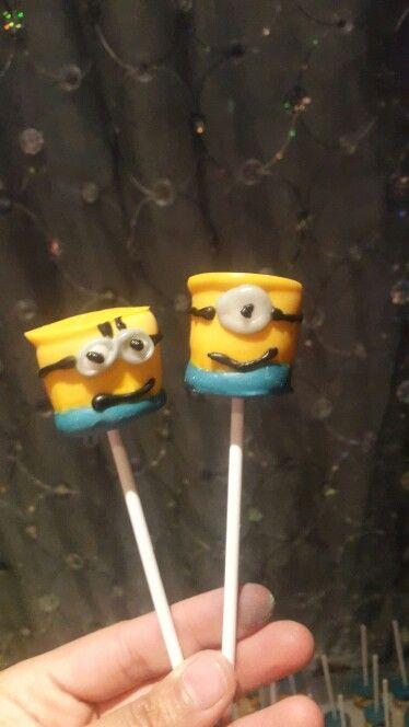 Marshmallows minions