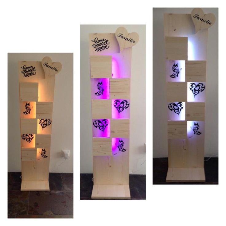 LED Holztafel ganz persönlich | KunstiX
