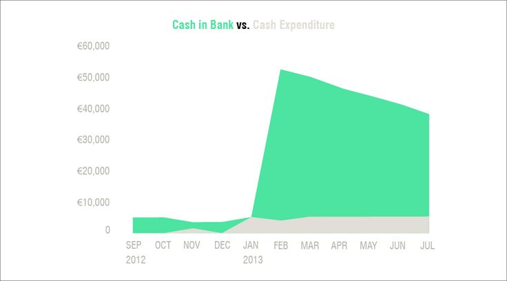 cash in bank vs cash expenditure - Leeszaal http://www.killingarchitects.com/financial-models-for-temp-use-casestudy-leeszaal/