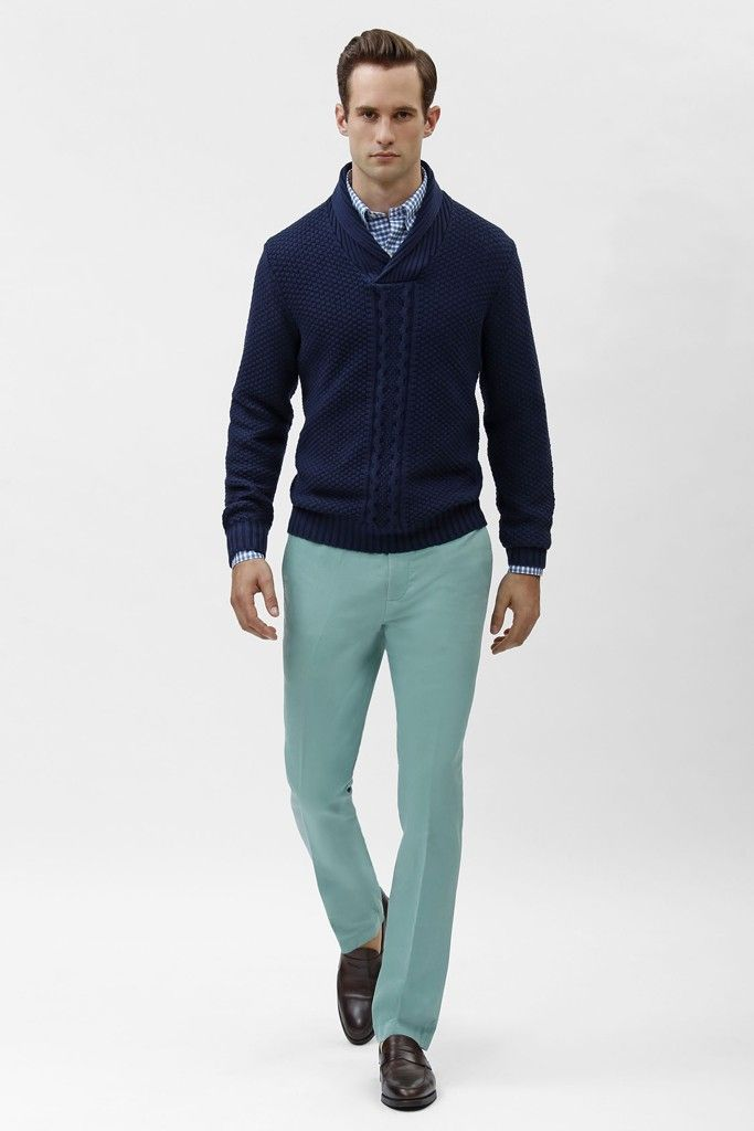 Brooks Brothers Men's RTW Spring 2014 - Slideshow