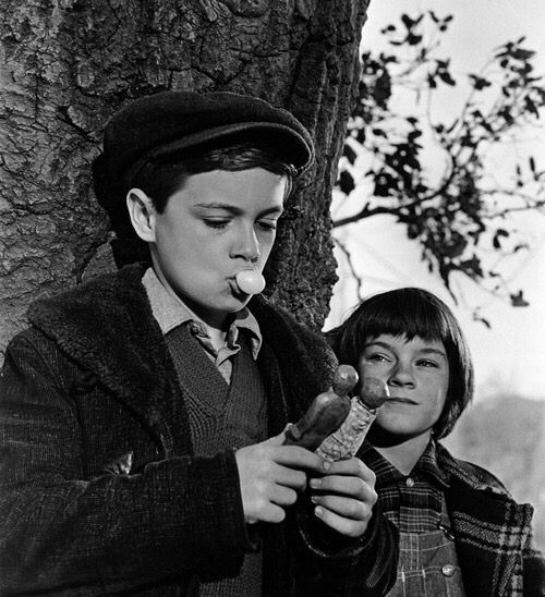 Week 5: (Plot development) This image from the film represents Jem and Scout discovering the interesting artefacts that Atrhur Radley surreptitiously levels for them in the hollow know of the tree outside his home (dolls and figurines, a few nickels, and sticks of bubblegum). This is particularly important to the plot at the end of the book as the Finch children reminisce over the small things that Boo Radley did for them - some without them even noticing. When Boo finally reveals himself at…