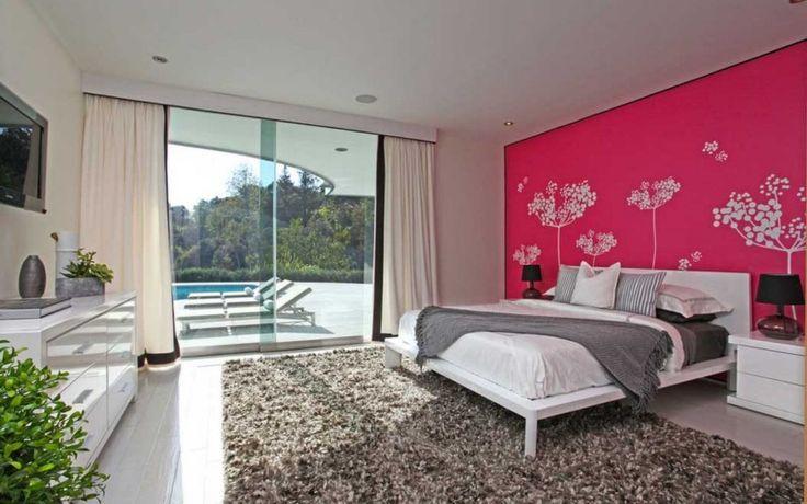 Акцент стены в интерьере спальни и гостиной. 29 вариантов