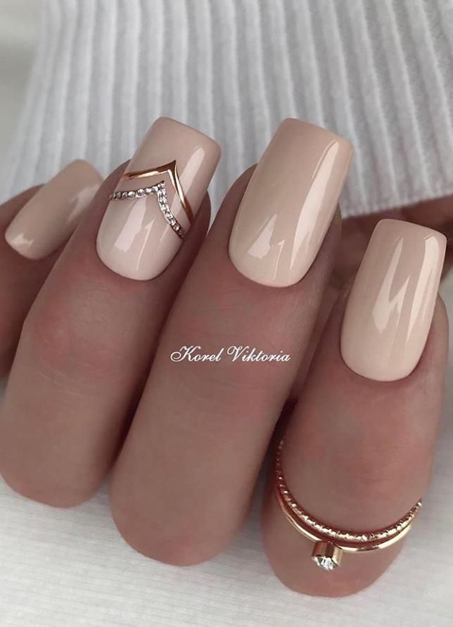 33 Trendy Natural Short Square Nails Design For Spring Nails 2020 Latest Fashion Trends For Woman In 2020 Square Nail Designs Short Square Nails Trendy Nails