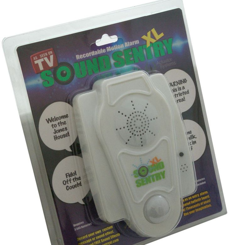 Sound Sentry XL Recordable Motion Alarm Bubble Pack - NuMercy.com