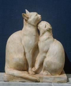 Di Palma-Falco: Pair of cats