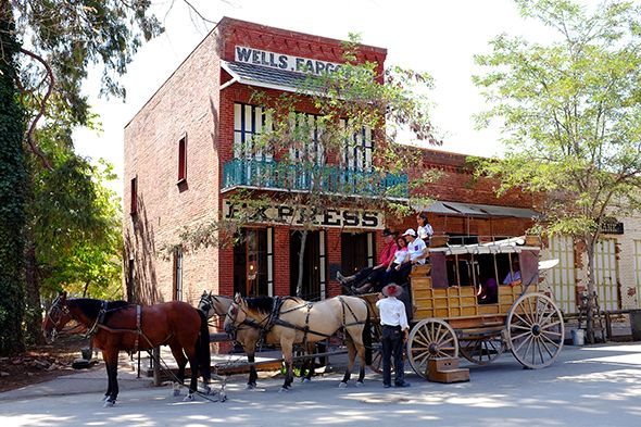 The 19th century has a way of working its way into casual conversation in Columbia, California, one of a trio of gold-rush towns—Sonora and Jamestown are the others—clustered together on the fringe…