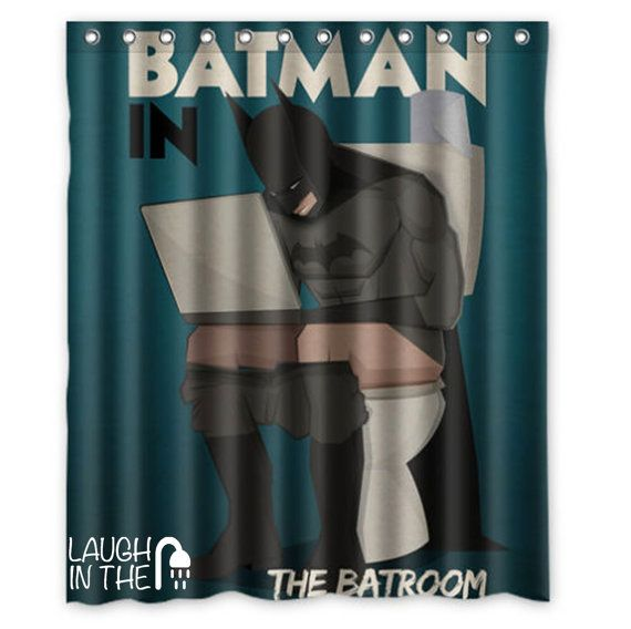 Funny Shower Curtain