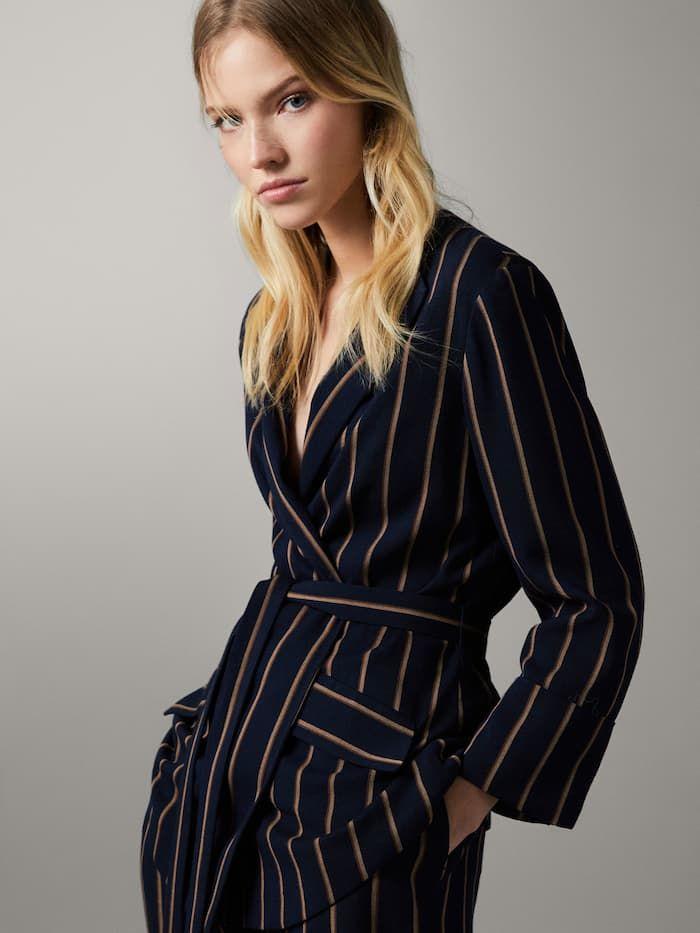 muchas opciones de rendimiento superior moda más deseable Americana marino rayas slim fit | IDID en 2019 | Trajes ...