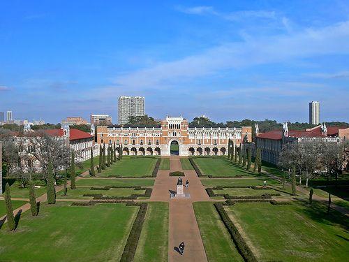 Rice University. Houston, Texas.
