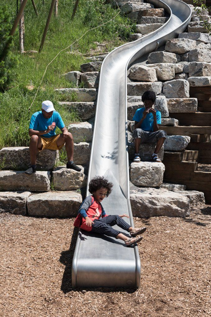 The Hills – Governors Island | New York, USA #West8 Landscape Architecture #play