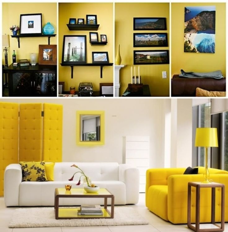Cozy Yellow Interior Design Listed In Painting Living Room Colors Color Schemes For Rooms