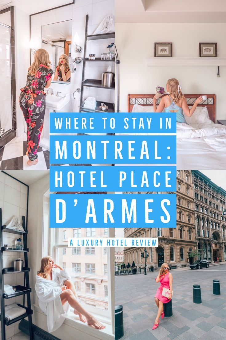 Where To Stay In Montreal Hotel Place D Armes Travel