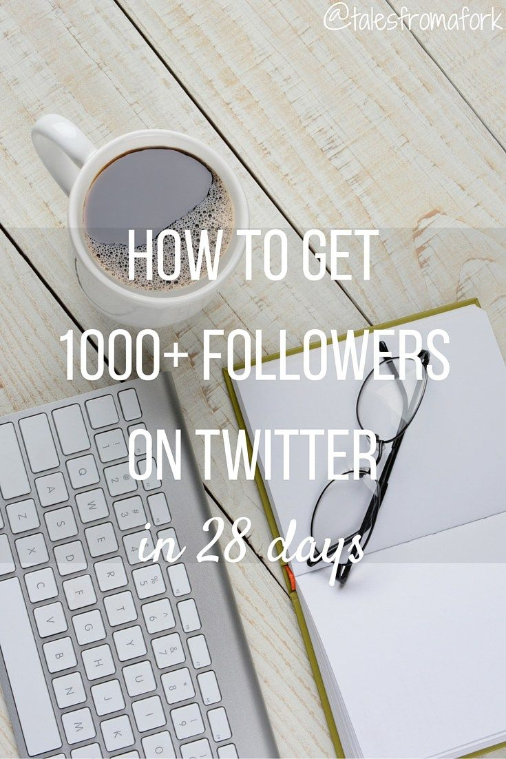 How to get free & real 1000 followers on Twitter in 28 days