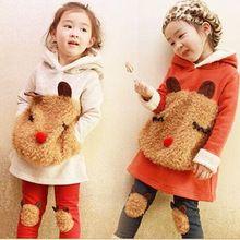 2016 New winter children's clothing suit  girl child autumn children thickening…