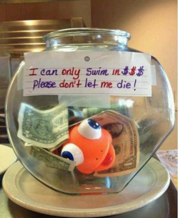 I have that fiiiish!! Great idea!