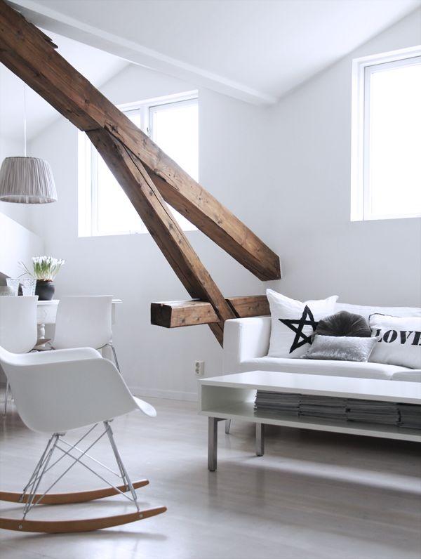 Via Elizabeth Heier | White | Eames Rar Chair | Scandinavian