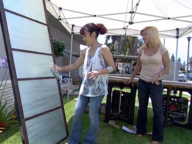 Sliding glass closet Covers | Update Old Closet Doors to Look Like Shoji Screens : Decorating : Home ...