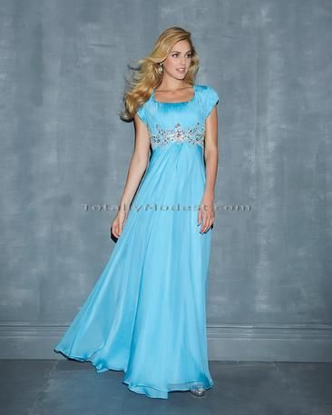 This would be a super cute DYW dress if you just shortened it a bit.