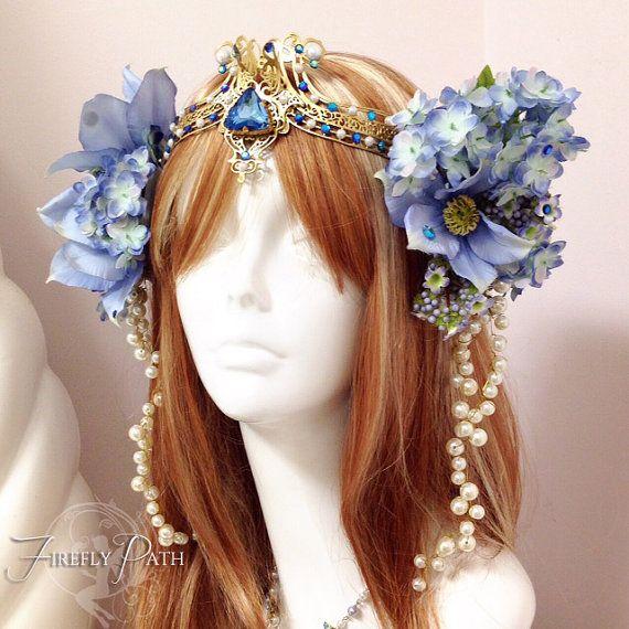 Art Nouveau headdress by Firefly Path