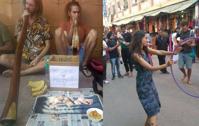 Penniless and Broke, Tourists in India Are Doing This to Buy Their Return Tickets