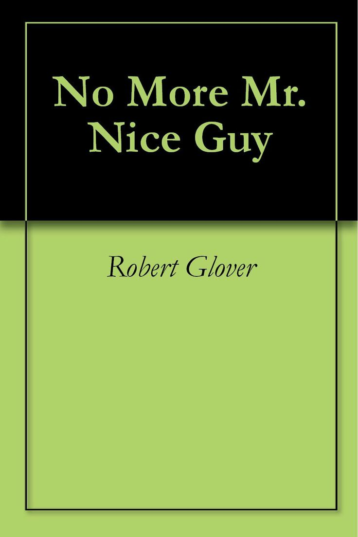 No More Mr. Nice Guy  by Robert Glover ($12.09) http://www.amazon.com/exec/obidos/ASIN/B004C438CW/hpb2-20/ASIN/B004C438CW I know this for a fact since I would say that I am a recovering nice guy who didn't realize just how much of an issue I had being a nice guy until I read this book. - I loved reading this book and it helped make sense of my own life and relationships. - His advice about what to do is very straightforward, and the book well written.