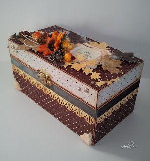moje papierowe hobby: pudełko