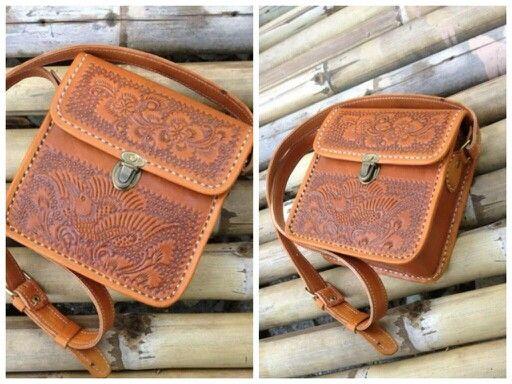 DS001 Premium Leather Bag - IDR 340.000