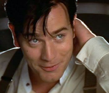 Ewan McGregor in Moulin Rouge! He also made me have the hots for Obe wan. LOL