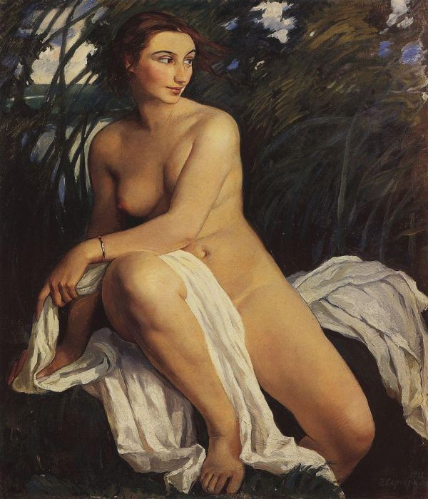 "Zinaida Serebriakova ""Bather"" 1911"