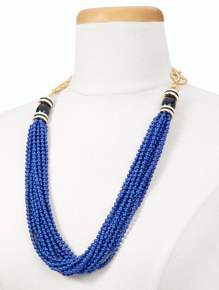 talbots seedbead rope chain necklace new arrivals