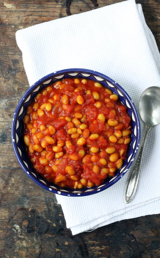 Easy Baked Beans with Turmeric - Veggie Desserts