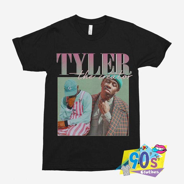 Tyler The Creator 90s Vintage Black Rapper T Shirt