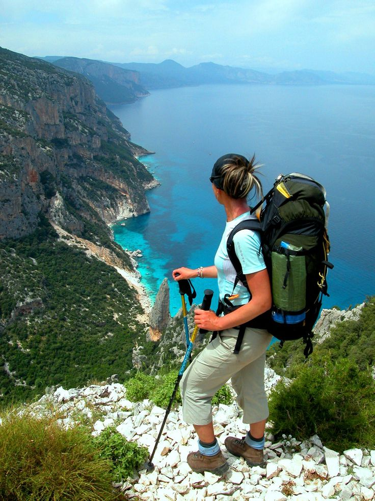 Hiking in Cala Luna, Sardegna Percorsi Trekking in Sardegna http://betogo.eu/Sardinia-Excursions