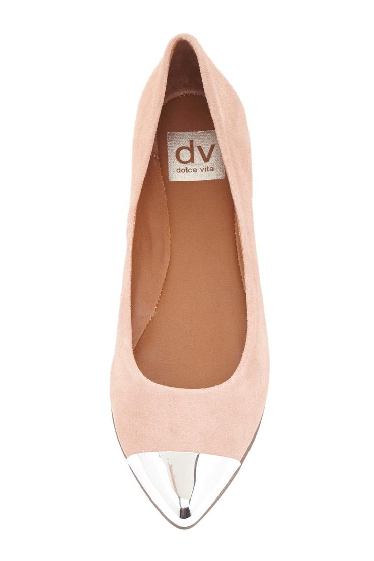 Dolce Vita Lollie Cap Toe Ballet Flat