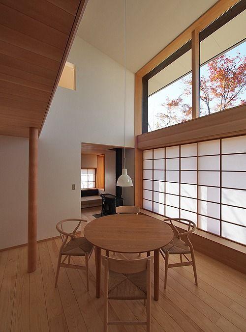 Iabaraki and future flat house, Satoshi Irei. 茨城・みらい平の家