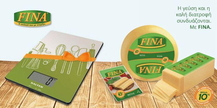 """Κερδίστε τη """"μάχη με τη ζυγαριά"""" με το Fina και έναν ζυγό κουζίνας UTENSILS"""