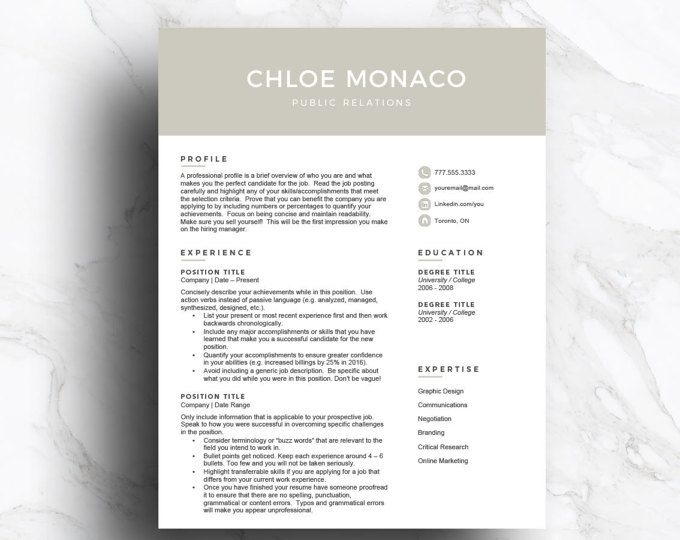 39 best Resume templates images on Pinterest Plants, Career - how to write a reference page for a resume