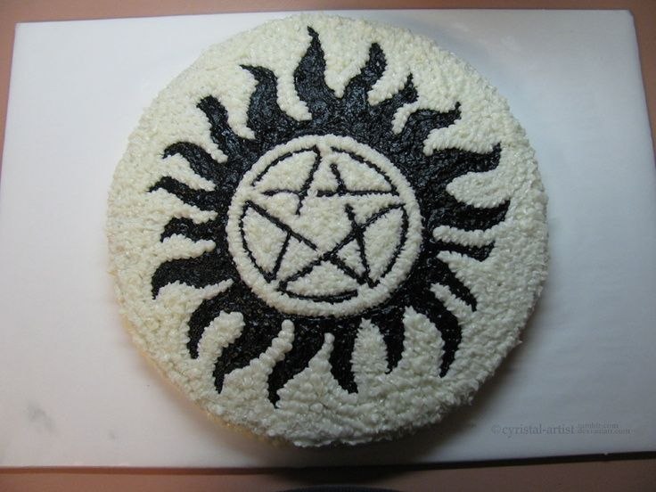 Supernatural Cake Site Pinterest
