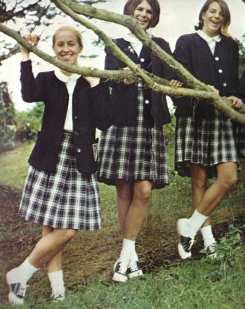 Uniforms for Catholic School   Yes this is what we wore...