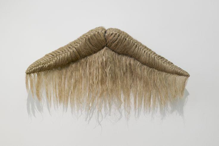 Elodie ANTOINE - Cornes, 2014, cotton and hemp, 70x140x27cm, unique